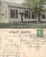 QUAKERTOWN BUCKS COUNTY PA FRIENDS MEETING HOUSE 1919 ANTIQUE POSTCARD