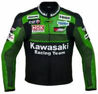 New Green Motorbike Motorcycle Racing Leather jacket LD-444-99-2021