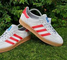 BNWB & Genuine Adidas Originals ® Gazelle Indoor Grey Suede Trainers UK Size 7