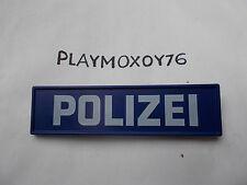 PLAYMOBIL. PLAYMOXOY76. CARTEL DE COMISARIA POLICIA.