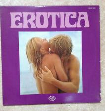 "33T EROTICA Vinyle LP 12"" Sexy KISS EMMANUELLE FEMMES HISTOIRE D'O - MFP 18240"