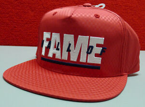 NEW Hall of Fame Snap Back Racing Cap Red Hat Unisex Felxifit 2nd Sucks $49.99