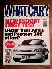 WHAT CAR? MAGAZINE MAR-1995 - BMW 740i E38, Lexus LS400, Escort, Rover 620 SDi