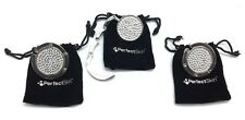 3pk Kim Kardashian Perfect Skin Purse Bag Handbag Hanger Silver Studded Holder