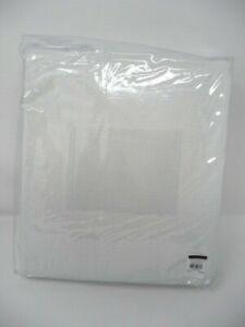 "Pottery Barn  Belgian Flax Linen Drape 50x84""  White Multiples Available"