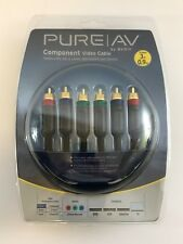 Belkin Pure AV Component Video Cable 3ft 0.9m Gold Plated for Home Theatre HDTV
