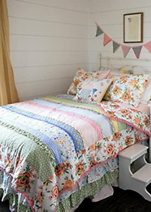 Matilda Jane Bedding Twin Size Quilt Think Good Thoughts NEW in Bag
