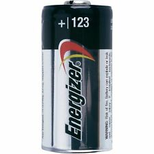 10 pcs Energizer Lithium CR123A 3V 123 123A Batteries