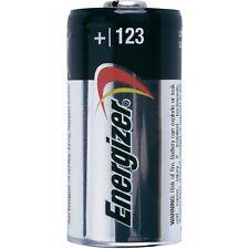 10 pcs Energizer Lithium CR123A 3V 123 123A Batteries