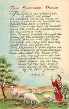 Postcard Psalm 23