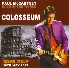 Paul McCartney / Back In The World / LIVE at the Colosseum, ITALIA / 2CD / New!