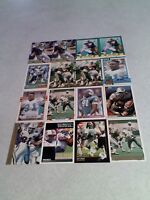 *****Jeff Cross*****  Lot of 100+ cards.....36 DIFFERENT / Football