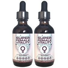SUPER FEMALE VITALITY - INFO WARS - (59.2ml / 2 fl. oz) - 2 PACK