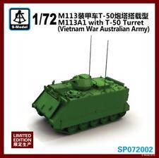 S-Model SP072002 1/72 M113A1 with T-50 Turret (Vietnam War Australian Army) 1pcs