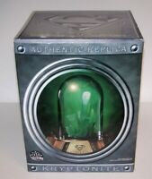 Superman Authentic Replica Kryptonite Prop Lights Up Statue COA DC Direct NIB