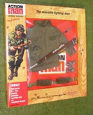 Vintage Action Man 40th cardée Action Soldat Combat FIELD JACKET 1/6 scale