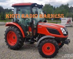 Kioti Tractor Radio Wire Harness NX RX CK DK Connector CD In Dash Stereo Plug