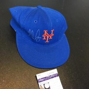 Nolan Ryan Signed Authentic New York Mets Game Model Hat Cap With JSA COA