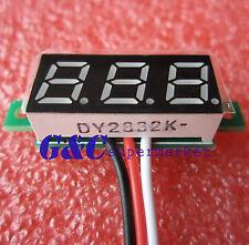 """10PCS 0.28"""" LED DC  0-100V Digital Voltmeter Panel Meter Blue COLOR M90"""