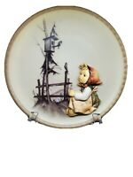 """M.J. Hummel 2nd """"Four Seasons"""" Plate Vintage Handcrafted Collectors Plate 1997"""