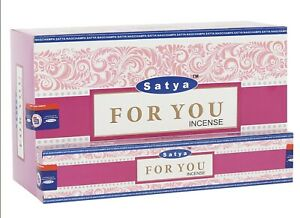 3 Packs Of Satya For You Incense Sticks. 15g Per Pack.