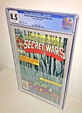 Marvel Super Heroes Secret Wars #4, CGC 8.5, White Pages
