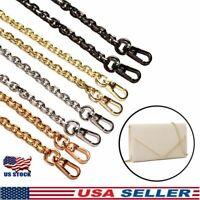 US Metal Purse Chain Strap Handle for Shoulder Crossbody Bag Handbag Replacement