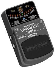 Brand NEW Behringer TU300 cromatica Guitar & Bass TUNER CON 7 Modalità di tuning