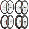 Ultra Light Carbon Bicycle Wheelset 38/50/60/88mm Carbon Clincher Wheels  271Hub