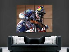 JASON CRUMP SPEEDWAY RIDER ART WALL PICTURE POSTER  GIANT HUGE