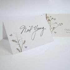 24 Personalized Romantic Butterfly Wedding Place Cards