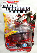 Transformers Prime Animated Deluxe Knock Out Action Figure MIB With DVD Rare Toy