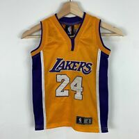 LA Lakers Kobe Bryant Basketball Jersey Youth Size 4 Good Condition
