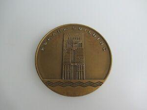 Bronze Humana Building Louisville Round Medallion Michael Graves Architect