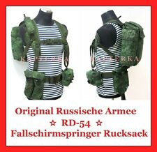 ☆ Original Russische Armee Uniform Rucksack RD-54 Fallschirmspringer WDW BTK ☆