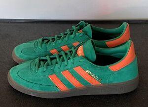 *Preowned* Adidas Handball Spezial St Patrick's Day Green/Orange BD7620 Size 9