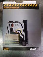 heavy equipment manuals books for crown forklift ebay rh ebay com Nissan 50 Forklift Manual Daewoo Forklift Manuals