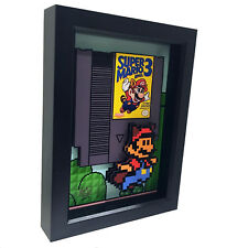 Super Mario Bros 3 Nintento 3D Pop Art NES Video Game Cartridge Raccoon Classic