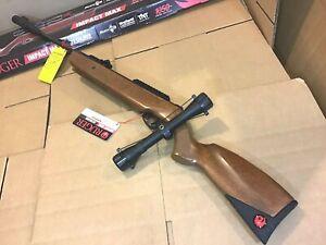 Ruger Impact Max .22 Cal Pellet Air Gun Rifle 4x32 Scope 1050 FPS