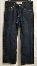 Levis 550 Relaxed boy's 14 REG. dark wash. 28x27