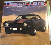 2020  Classic Cars Calendar