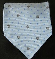 """GIANNI VERSACE Vintage 1990s Silk Tie Medusa Heads Necktie Made in Italy 58"""""""