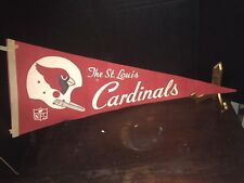 VINTAGE ST.LOUIS CARDNALS FOOTBALL PENNANT