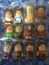 """Disney 3"""" Vinylmation - Beauty and the Beast, Set of 12 with Chaser - Rare"""""""