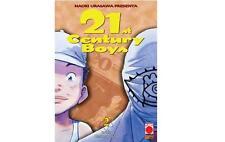 21ST CENTURY BOYS 2 DI 2 - RISTAMPA - PLANET MANGA PANINI - NUOVO