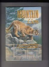 MOUNTAIN LION by Chris Bolgiano hardcover with dust jacket SIGNED 1st/1st