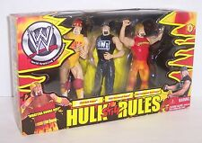 2002 Jakk's Pacific WWE Hulk (Hogan) Still Rules 3 pc Action Figure Set WWF[451]