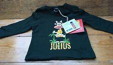 Paul Frank Designer Kids T Shirt/Small Paul/Dark Green/6 Months/Jungle Monkey