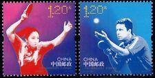CHINA 2013-24 TABLE TENNIS set of 2, scott 4152-53