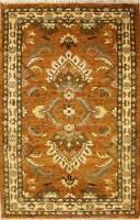 Rugstc 3x5 Senneh Chobi Ziegler Orange Area Rug,Natural dye, Hand-Knotted,Wool